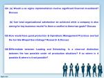q4 a would a six sigma implementation involve