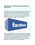 buy 500 likes for facebook business page