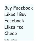 buy facebook likes l buy facebook likes real cheap