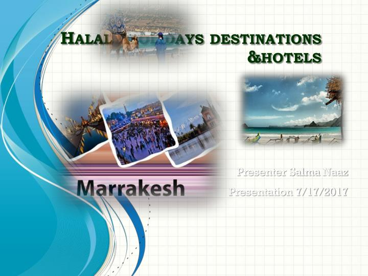 halal holidays destinations hotels n.