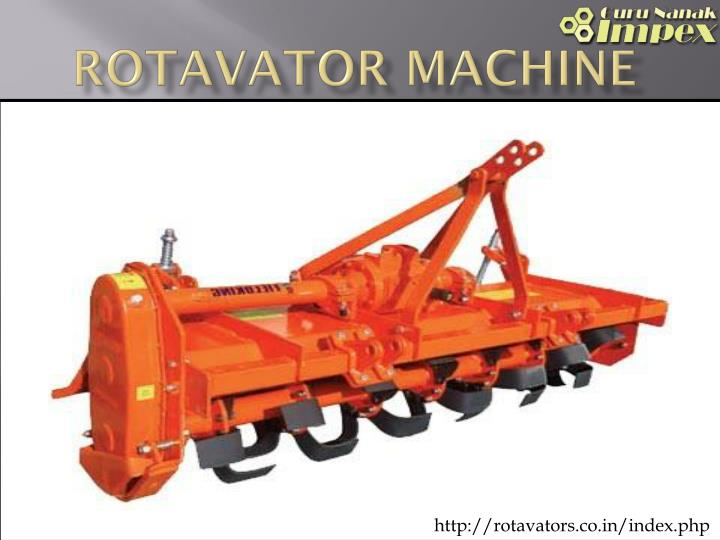 rotavator machine n.