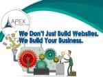 we don t just build websites we build your