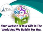 your website is your gift to the world