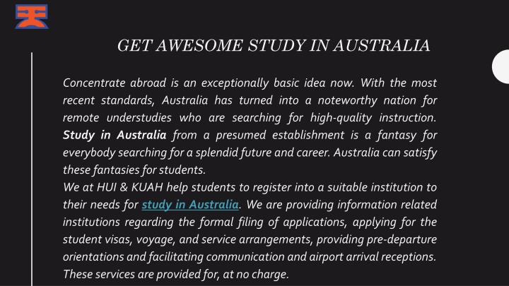get awesome study in australia n.