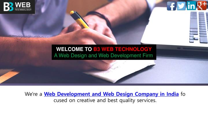 welcome to b3 web technology a web design n.