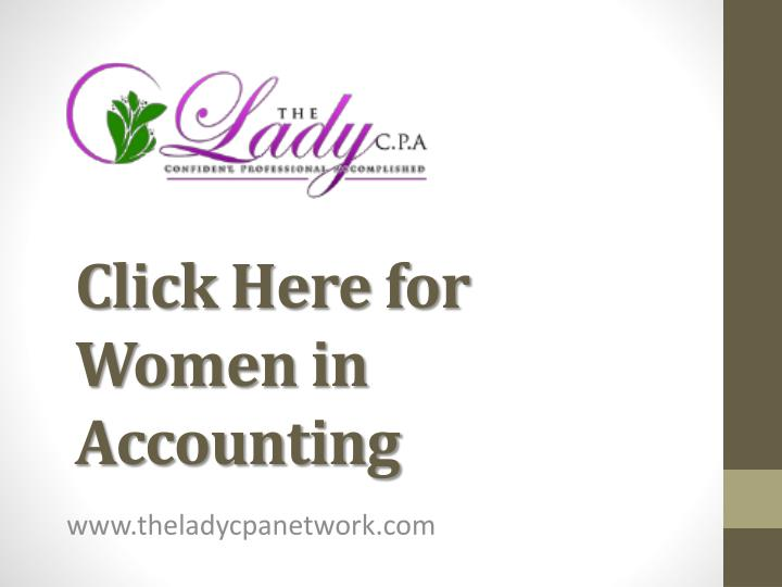 click here for women in accounting n.