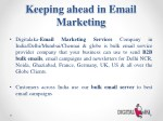 keeping ahead in email marketing