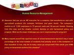 human resource management q1 assumes that