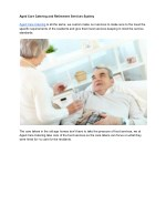 aged care catering and retirement services sydney