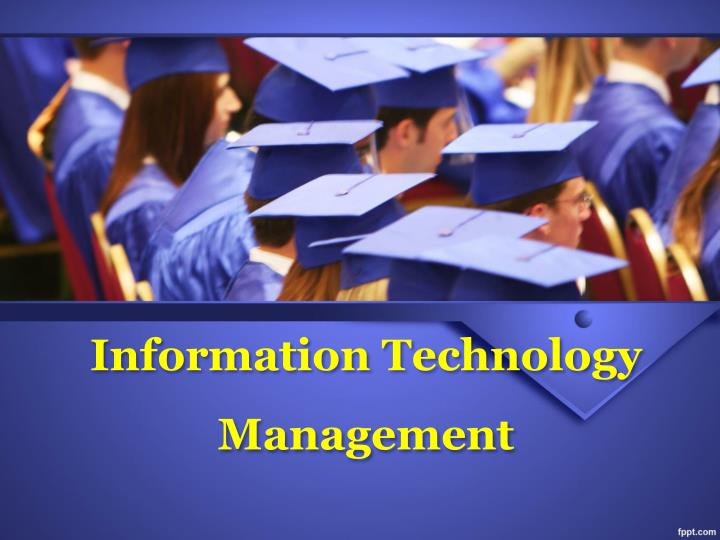 information technology management n.