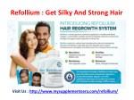 refollium get silky and strong hair