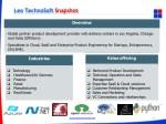 leo technosoft snapshot