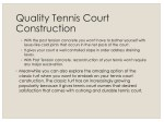 quality tennis court construction 1