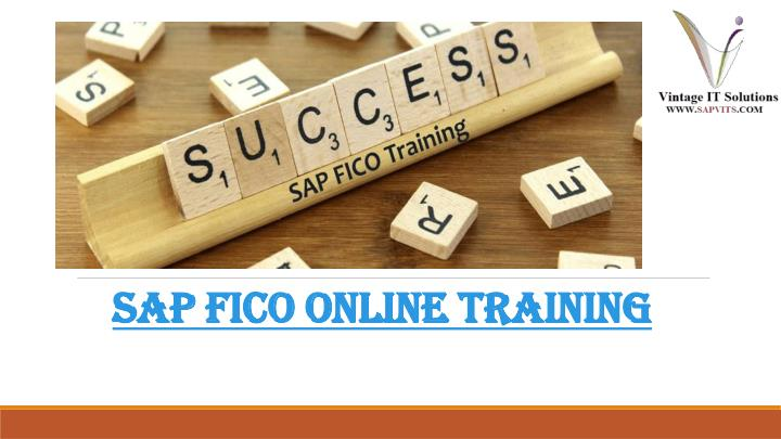 sap fico online training n.