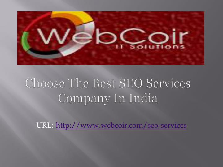 choose the best seo services company in india n.