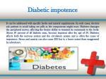 diabetic impotence