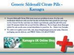 generic sildenafil citrate pills kamagra