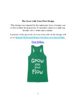 the grow with your flow design