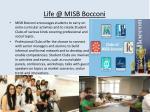 life @ misb bocconi