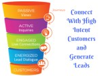 connect with high intent customers and generate