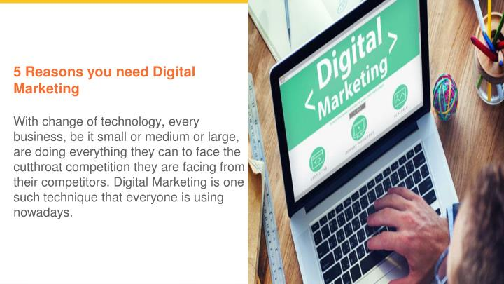 5 reasons you need digital marketing with change n.