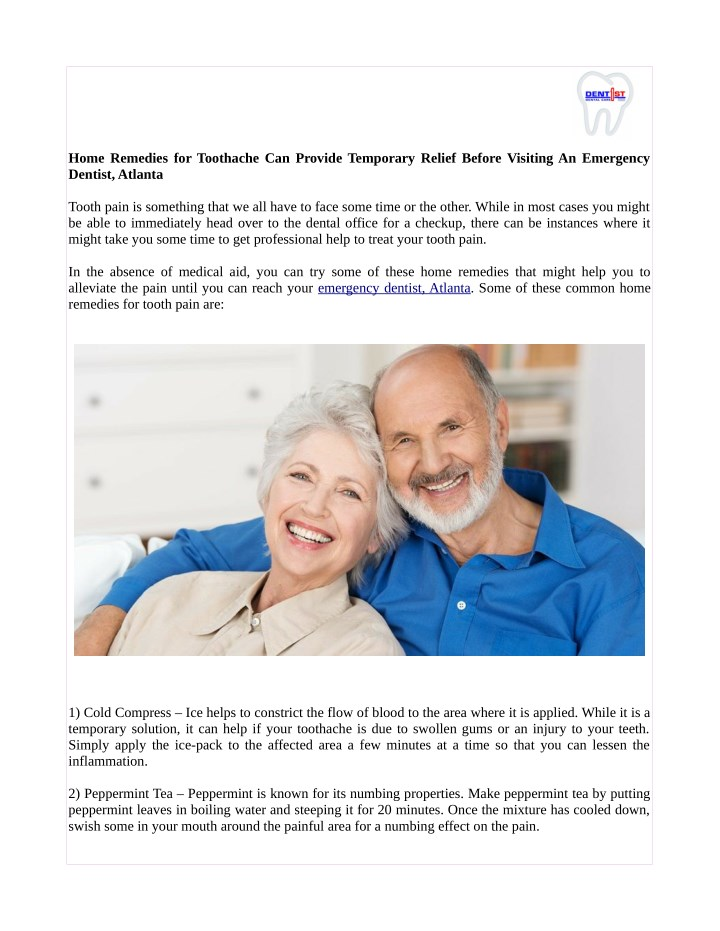 home remedies for toothache can provide temporary n.