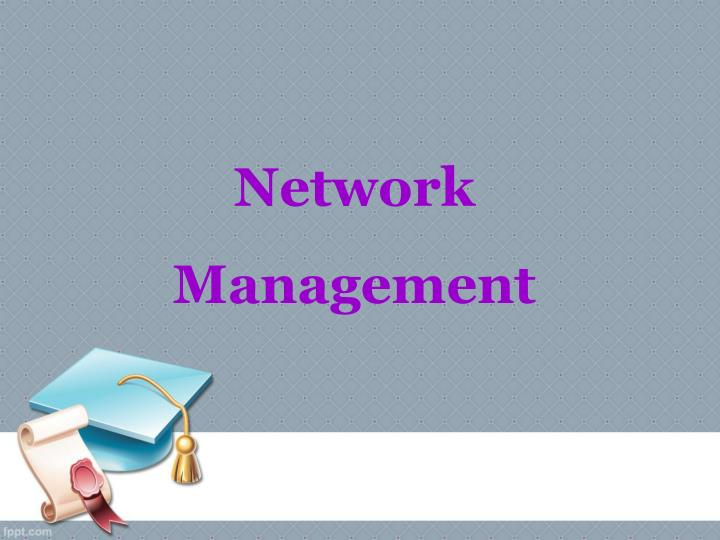 network management n.