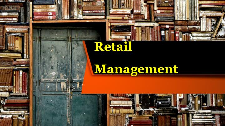 retail management n.