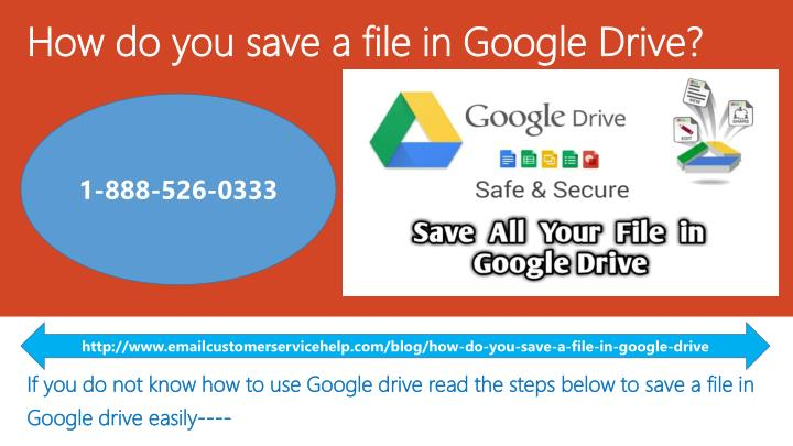 how do you save a file in google drive n.