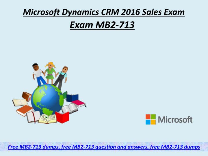 microsoft dynamics crm 2016 sales exam n.