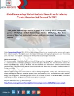 global immunology market analysis share growth