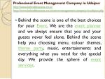 professional event management company in udaipur 3