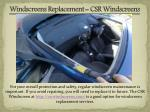 windscreens replacement csr windscreens