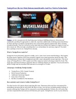 tentigopower review male enhancement benefits