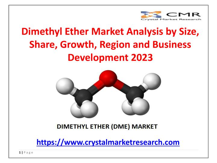 dimethyl ether market analysis by size share n.