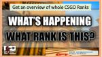 get an overview of whole csgo ranks