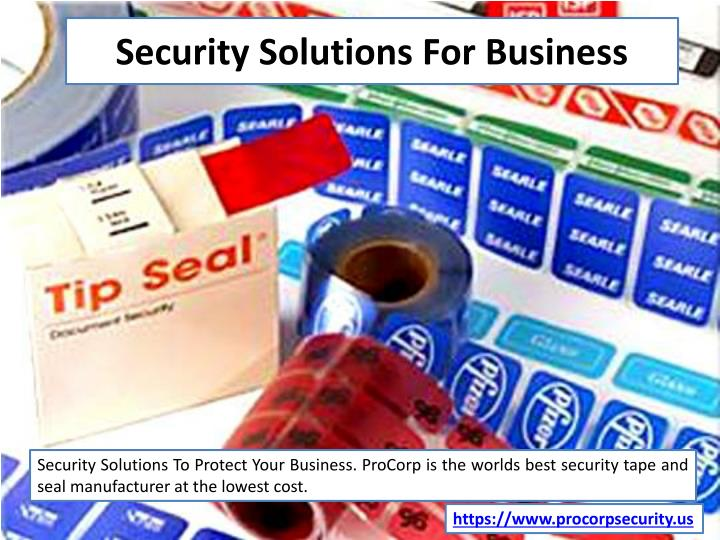 security solutions for business n.