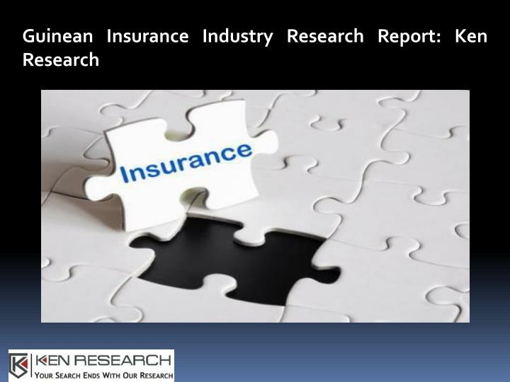 guinean insurance industry research report n.
