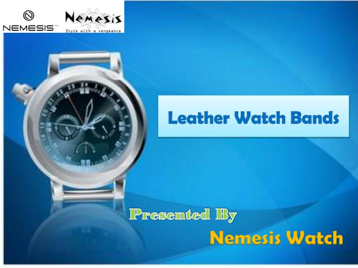 leather watch bands n.