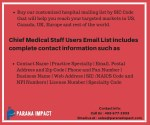 buy our customized hospital mailing list