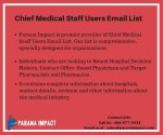 chief medical staff users email list 1