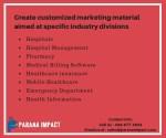 create customized marketing material aimed