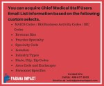 you can acquire chief medical staff users email