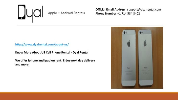 official email address support@dyalrental n.