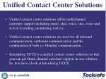 unified contact center solutions 2