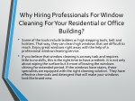 why hiring professionals for window cleaning 1
