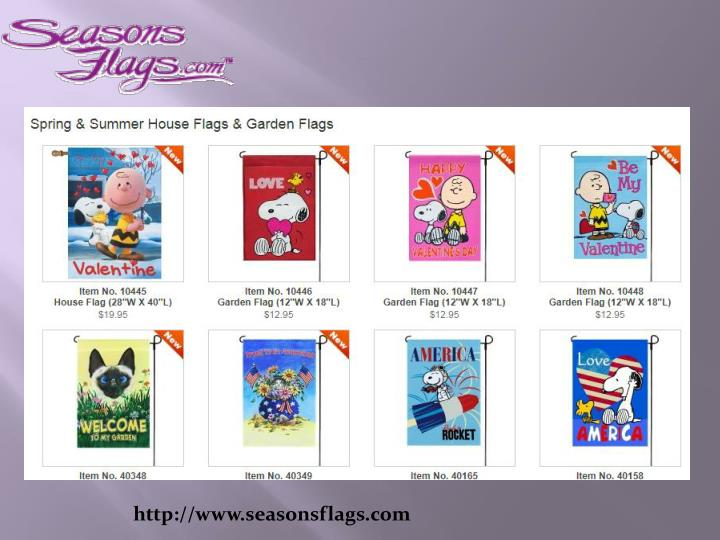 http www seasonsflags com n.