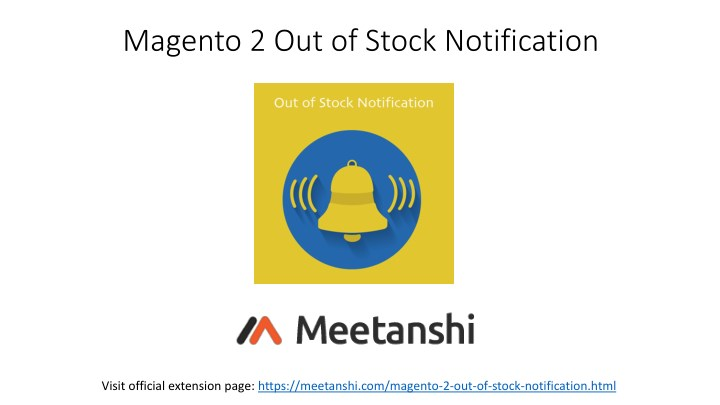 magento 2 out of stock notification n.