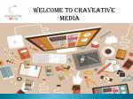 welcome to craveative media