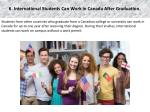 6 international students can work in canada after graduation